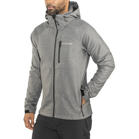 Columbia Cascade Ridge II Softshell Jacket Herren charcoal heather
